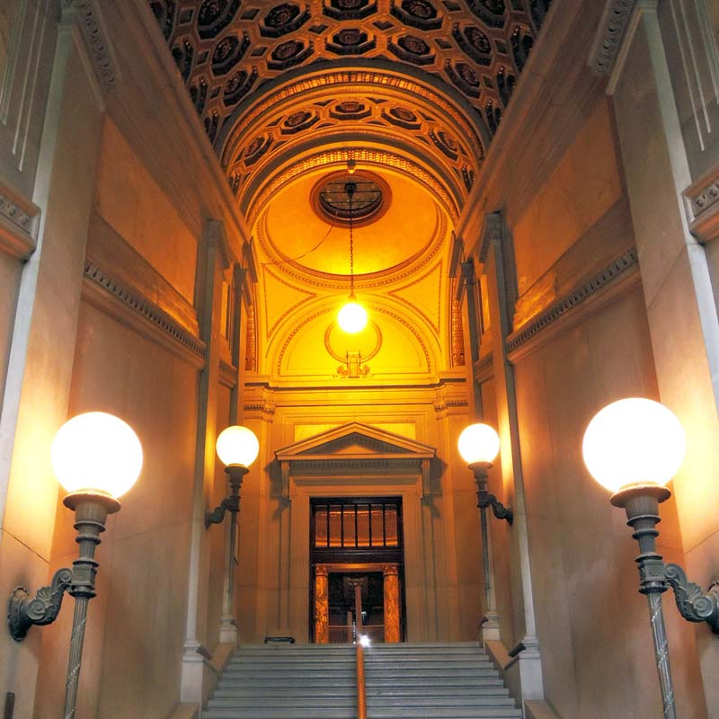 Gould Memorial Staircase