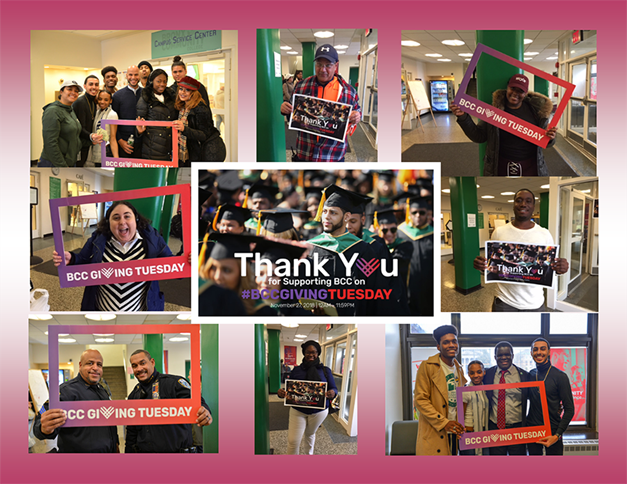 BCC Giving Tuesday Thank you montage