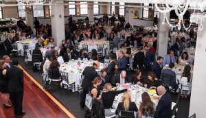Vies of tables at the BCC Foundation Gala