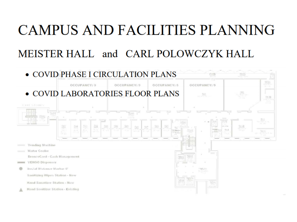 Campus and Facilities Planning