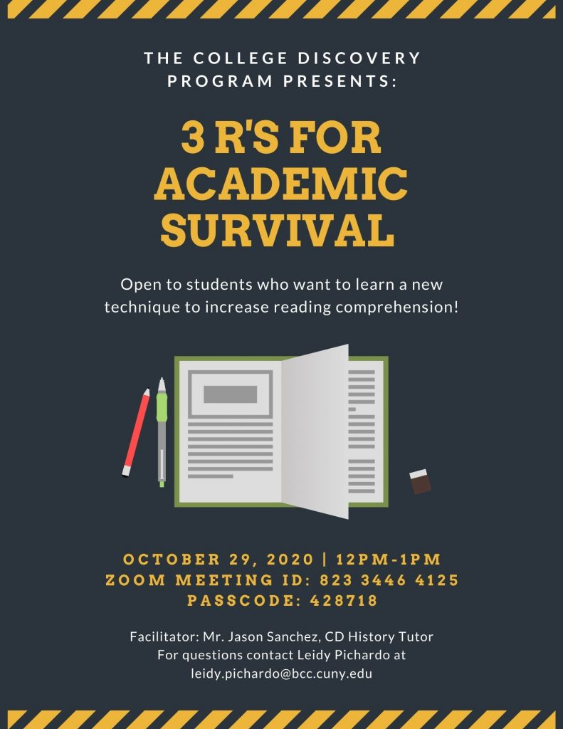 3-rs-for-academic-survival-flyer