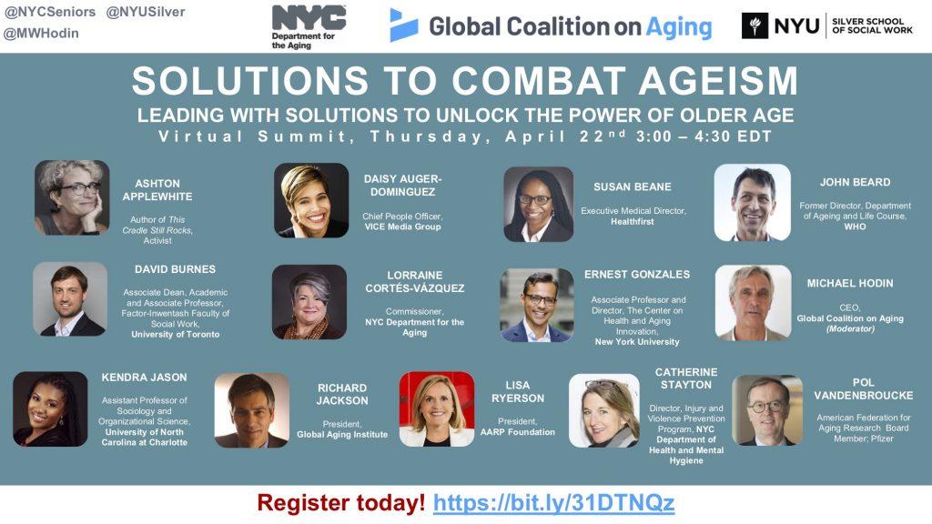 Combat Ageism Flyer