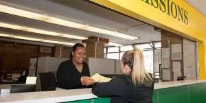 Admissions Service Desk